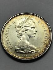1967 Canada  25 Cents Unc+ Toned #6525
