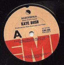 "KATE BUSH   Rare 1980 Australian Only 7"" Mint OOP EMI Pop Single ""Babooshka"""