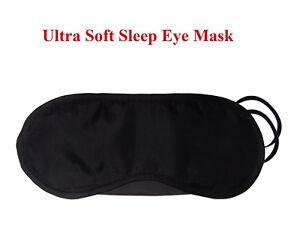 Sleep Eye Mask Ultra Soft Encourages Restful Sleep Home or Travel Free UK P&P