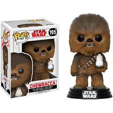 Star Wars The Last Jedi - Chewbacca con PORG 9.5cm VINILE POP Statuetta BOLLA