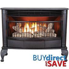 ProCom Vent Free 25K BTU Free Standing Gas Stove Fireplace - QNSD250T