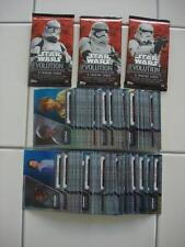 2016 Topps Star Wars Evolution Complete Blue Parallel Set of all 100 Cards