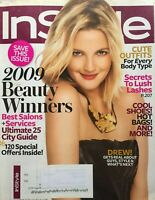 DREW BARRYMORE October 2009 In Style Magazine CHRISTINA AGUILERA  AMBER VALLETTA
