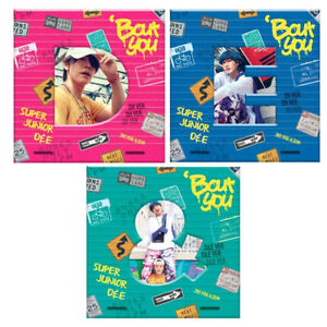 SUPER JUNIOR D&E Bout You 2nd Mini Album CD+Booklet+Photocard KPOP Sealed