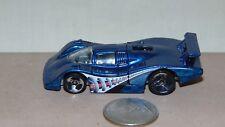 1983 HOT WHEELS BLUE RACE CAR
