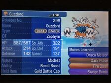 Pokemon Sun Moon Shiny Guzzlord 6IV Guide with Gold Bottle Cap