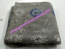 5 Yard Decor Indian Cotton Hand Block print Fabric Flower Print Voile Fabric SG@