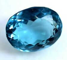 10.55 Ct Natural Blue Indicolite Tourmaline Certified AAA+ Sparking Gemstone