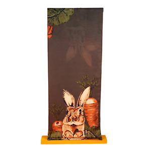 Powder Gardening Bunny Print Scarf | Charcoal Mix | SBoutique