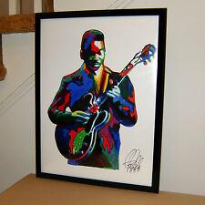Matt Guitar Murphy American Blues Music Poster Print Wall Art 18x24