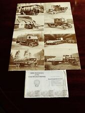 Collectos Rare Set of 8 postcards depicting Great Western Railways early  goods