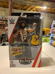 WWE Mattel Elias Elite Collection Series 60 Wrestling Action Figure NXT Guitar