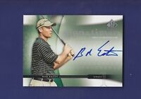 Bob Estes 2004 Sign of the Times Upper Deck Golf SP Authentic (Mint)