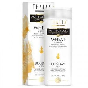 Thalia Weizen & Honig Shampoo 300 ml - für strapaziertes und gefärbtes Haar