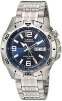 Casio Men's Super Illuminator Analog Quartz Stainless Steel Watch MTD1082D-2AV