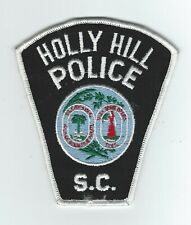 VINTAGE HOLLY HILL, SOUTH CAROLINA POLICE (CHEESE CLOTH BACK) patch