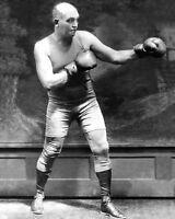 Former Heavyweight Champion JAMES JEFFRIES Glossy 8x10 Photo Print Boxer Poster