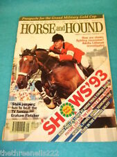 HORSE and HOUND - HORSE TRIALS COURSE DESIGN - MARCH 4 1993