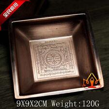 Buddha Tibet Tibetan Buddhist Offering Fire Plate Bowl Vessel family hall