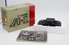 Canon A-1 35mm SLR Film Camera Body Black w/ Original Box