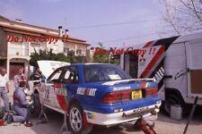 Timo Salonen Mitsubishi Galant VR-4 Portugal Rally 1992 Photograph 1