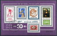 Ungarn Block 114 A gestempelt Motiv Briefmarken used