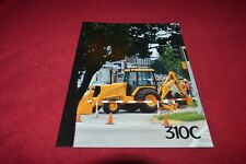 John Deere 310C Backhoe Loader Dealer's Brochure Gdsd7