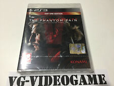 METAL GEAR SOLID V, THE PHANTOM PAIN, DAY ONE EDITION ,  PLAYSTATION 3 NUOVO