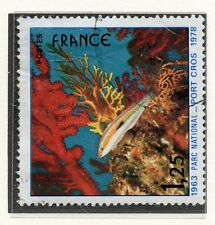 STAMP / TIMBRE FRANCE OBLITERE N° 2005 / PORT CROS / POISSON