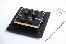 Platine für Sinar/Horseman mit Polaroid 4-fach Optik, Stereofotografie