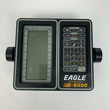 Eagle Z-6000 Fishfinder w Transducer, Head Unit Mount For Parts