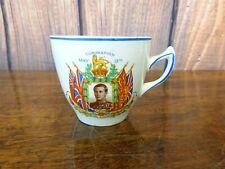 Vintage King Edward VIII 1937 Coronation Commemorative Memorabilia China Cup