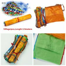 10 Flags Decorative Scriptures Tibet Tibetan Buddhist Prayer Flags Contain Style