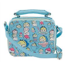 NEW! Disney Store Alice in Wonderland ''Tsum Tsum'' Crossbody Bag Purse Tote