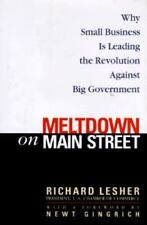 Meltdown on Main Street: Why Small Business is Leading the Revolution-ExLibrary