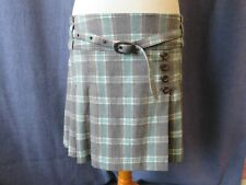 Ladies mini skirt, NEXT, size 14, tartan look, kilt style