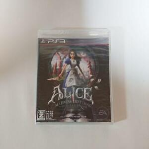 PS3 ALICE MADNESS RETURN NEW SEALED JPN IMPORT