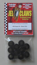 1/64 Rubber Racing Tires AFX Super G Rears 10 JEL CLAWS CAR SLOT RC 2060