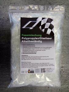 Polypropylenfasern Glasfasern Estrichfaser ++Alkaliresistent*++  1kg bis 26qm