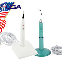 Dental Cordless Gutta Percha Obturation System Endo Heated Pen Tip Gum Cutter S+