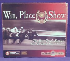 Win Place or Show The Best Track Stories by Radio Spirits CD