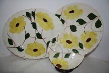 Blue Ridge Southern Potteries Ridge Daisy - Platter, Plate and Saucer - Set of 3