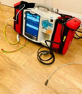 Philips MRX Heartstart Patient Monitor 2014 Model. ECG & Therapy Cable With Case