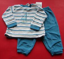 Baby Jungen  Schlafanzug 2 teilig Frottee GR.62/68 NEU OVP