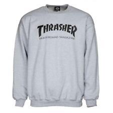Genuine Thrasher Skate Mag Crewneck Sweatshirt - Grey