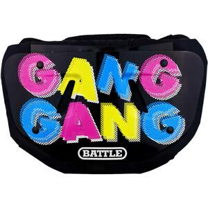 Battle Sports Science Gang Gang Chrome Football Back Plate - Adult