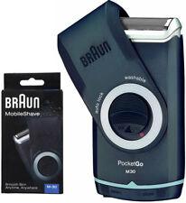 Braun M30 MobileShaver Men's Travel Electric Shaver PocketGo