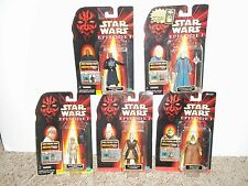 LOT OF 5 STAR WARS EPISODE I ACTION FIGURES (NEW)