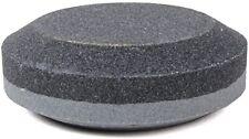 "New listing  Lansky Lspk Puck Sharpener 3"" Diameter Dual Grit Sharpening Stone"