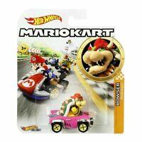 Hot Wheels Mario Kart 1:64 Die-Cast Car Yoshi Troopa Luigi Toad Koopa